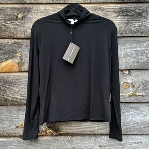 NWT St. John Sport Essentials Mock Neck L/S